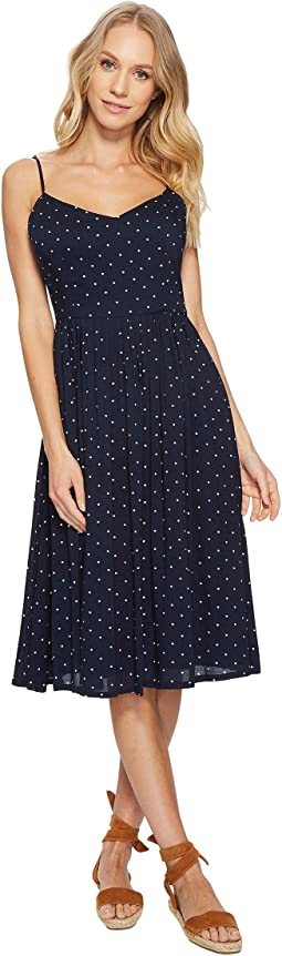 Sloane Mini Dot Midi Dress