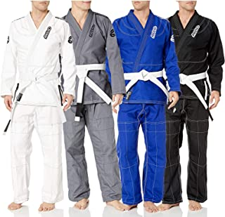 REEVO Guard Ultra Light BJJ Gi - Brazillian Jiu Jitsu Uniform w/Free White Belt
