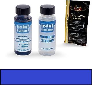 PAINTSCRATCH Sapphire Blue Metallic M5J/N1 for 2018 Porsche Macan - Touch Up Paint Bottle Kit - Original Factory OEM Automotive Paint - Color Match Guaranteed