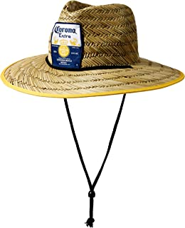 Corona Mens Extra Lifeguard Straw Hat, Natural, One Size