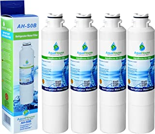 4x AH-S0B compatible pour filtre à eau Samsung DA29-00020B, HAF-CIN/EXP, DA97-08006A-B, DA29-00020A, réfrigérateur