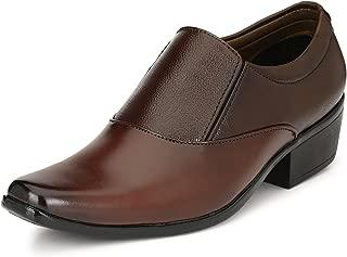 Sir Corbett Men's Synthetic Qban Heel Formal Shoes