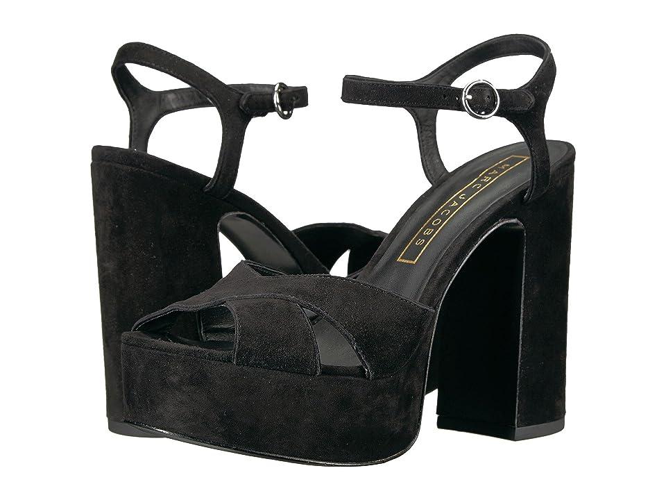 Marc Jacobs Lust Platform Sandal (Black) Women