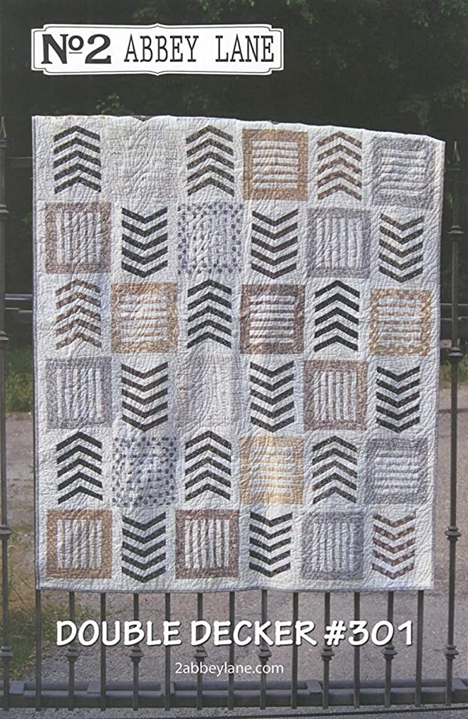 Double Decker Quilt Pattern by Abbey Lane Quilts #301 63