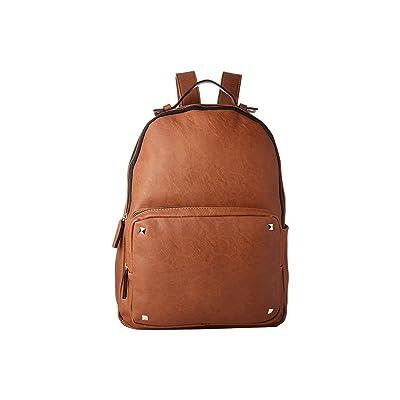 Steve Madden Mgfontpu By Madden Girl (Cognac) Backpack Bags