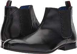 Black Leather High Shine