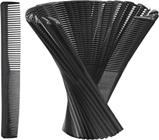 Hestya Hair Comb Pocket Size Unbreakable Plastic Hairdressing Styling Combs for Salon or Hotel.