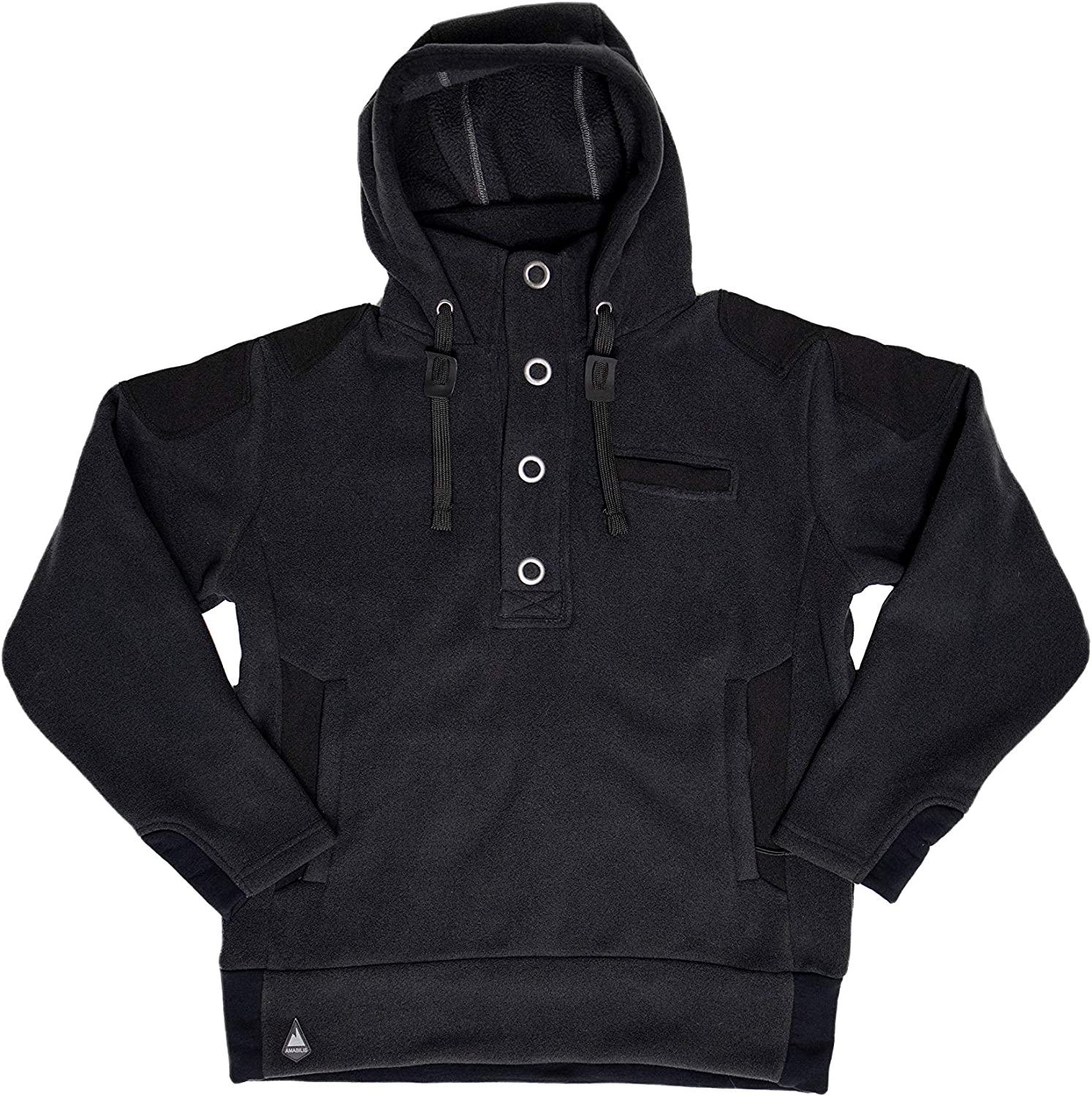 AMABILIS Men's Responder Inexpensive Hoody Pullover Swe Backed Sherpa Hooded Max 71% OFF