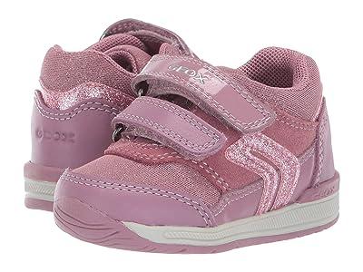 Geox Kids Rishon 20 (Infant/Toddler) (Dark Pink) Girls Shoes