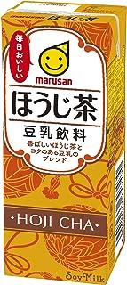マルサン 豆乳飲料 ほうじ茶 200ml ×24本