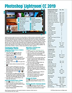Adobe Photoshop Lightroom CC 2019 Introduction Quick Reference Guide (Cheat Sheet of Instructions, Tips & Shortcuts - Laminated)