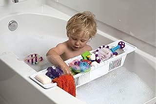 سبد ذخیره سازی سازمان دهنده اسباب بازی حمام KidCo ، سفید