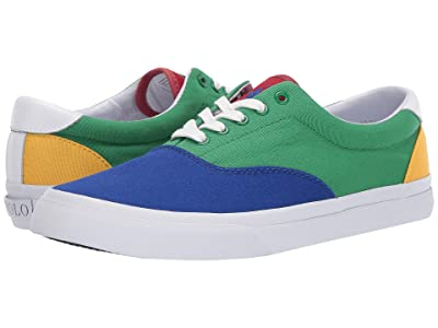 Polo Ralph Lauren Thorton III (Multi Canvas/Color Block) Men