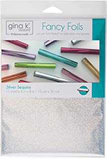 Gina K. Designs for Therm O Web 18038 Fancy Foils, 6