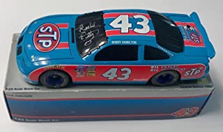Richard Petty 25th Anniversary STP Racing Red/Blue Signed 1/24 Diecast Car (F) - Autographed Diecast Cars