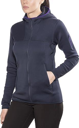 Arc'teryx Fortrez Veste à Capuche Femme, noir Sapphire 2018 Veste Polaire