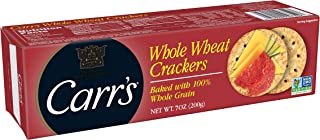 Carr's Whole Wheat Crackers, 7 Ounce (Pack of 6)