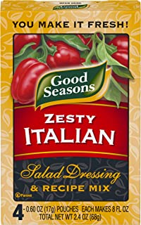 Good Seasons Zesty Italian Salad Dressing & Recipe Mix (2.4 oz Packet)