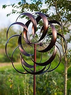 Jonart Design SP520 - Escultura de viento (23 x 61 x 183 cm), color bronce