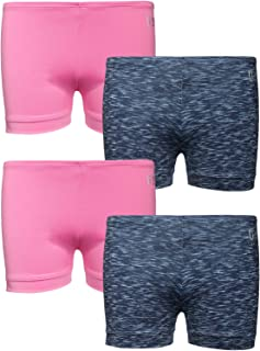 U.S. Polo Assn. Girls Playground Dance Shorts, (4-Pack)