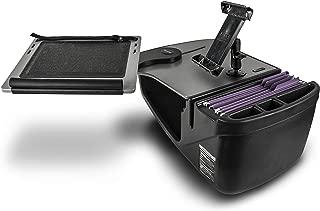 AutoExec ReachDesk-01 FS Reach Front Seat Car Desk Grey with iPad/Tablet Mount
