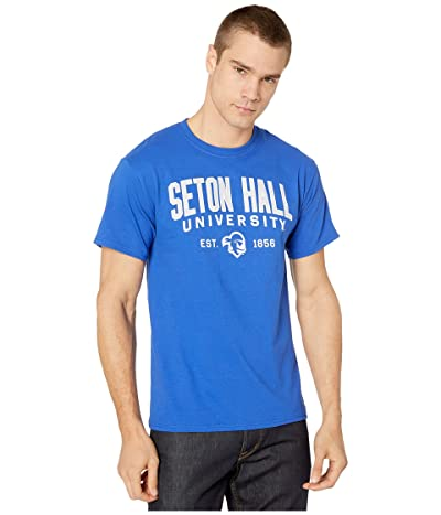 Champion College Seton Hall Pirates Jersey Tee (Royal) Men