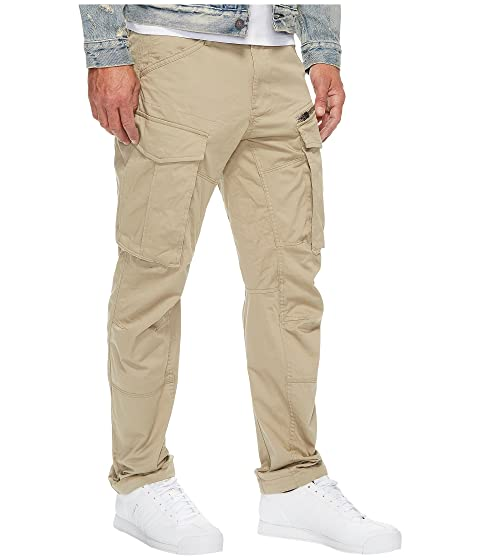 G-Star Rovic Zip 3D Tapered Fit Pants in Premium Micro Stretch Twill Dune Dune Clearance Best Sale Reliable For Sale Buy Cheap Outlet Locations ZfYymTI6