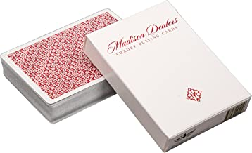 Ellusionist Madison Dealers Marked Playing Cards Red