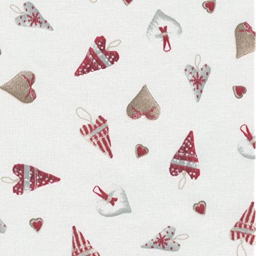 Red Floral 100/% Cotton Prints Vintage Dress Craft Fabric 160cm @ £3.99 per mtr.