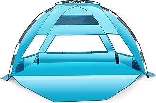 Arcshell Premium Extra Large Pop Up Beach Tent UPF 50+