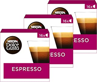 Nescafé Dolce Gusto capsules Espresso - 48 koffiecups - geschikt voor 48 koppen koffie - Dolce Gusto cups