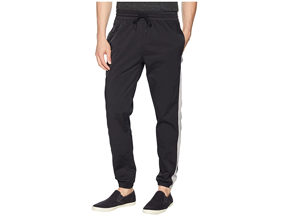 Publish Kiann Stretch Nylon Jogger Pants (Black) Men's Casual Pants