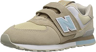 New Balance Kids' 574 V1 Classic Hook and Loop Sneaker