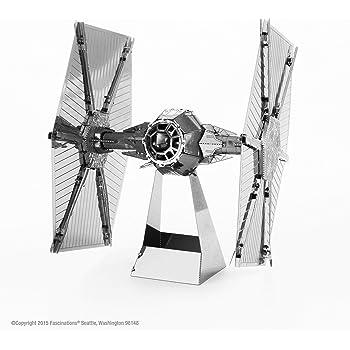 Star Wars-Maqueta de Metal 3D R2-D2, Color Plateado Earth MMS250 ...