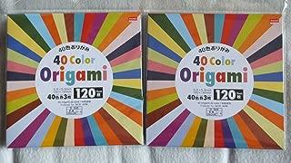 (1set) - 40 Colour Origami - 240 Sheets