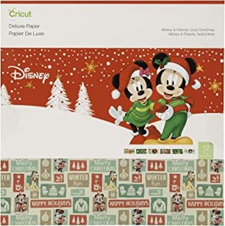 Cricut Deluxe Paper, Disney, Mickey and Friends Cozy Christmas