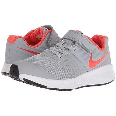 Nike Kids Star Runner (Little Kid) (Wolf Grey/Bright Crimson/Black/White) Boys Shoes