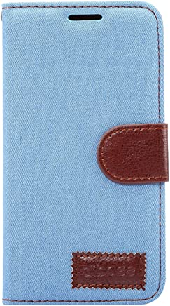 Apexel 三星 A3 手机套 - 黑色SXA3-01-LBL Samsung A3 浅蓝色