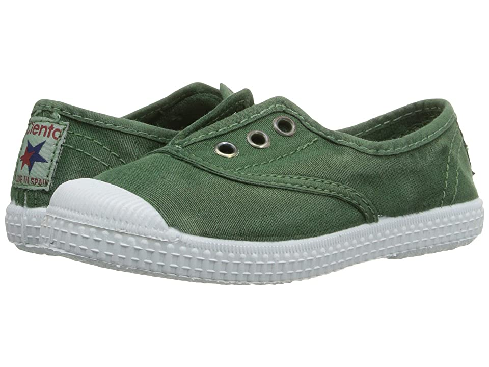 Cienta Kids Shoes 70777 (Toddler/Little Kid/Big Kid) (Green) Kid