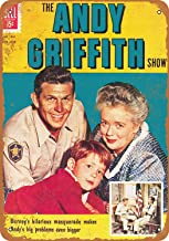 Treasun Metal Sign - Vintage Look Andy Griffith 8 x 12 Inches