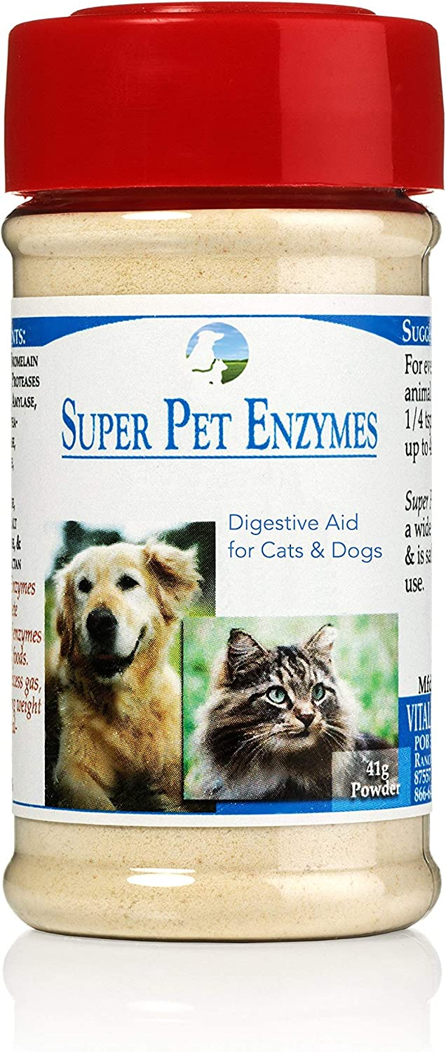 Vitality Science supreme Recommendation All Natural Super Pet Enzymes P High for Cats