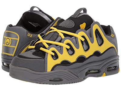 Osiris D3 2001 (Charcoal/Yellow) Men