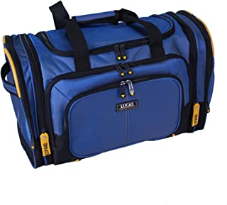 """Best Luggage Accelerator 20"""" Soft Expandable Soft Duffel (Blue) Review"""