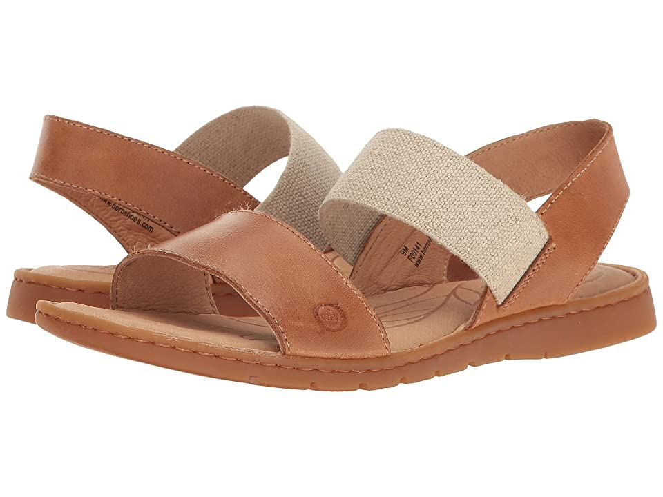 Born Parson (Light Brown Full Grain) Women