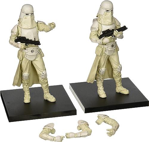 Kotobukiya Kotsw93Star Wars armée Builder Snowtrooper Artfx Plus série Action Figure (Lot de 2)