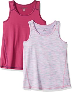 Girls' 2-Pack Active Tank