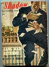 Shadow Pulp November 1946- Gang War Returns- Crime cover VG-