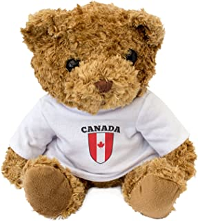 NEW - CANADA Flag - Teddy Bear - Cute And Cuddly - Gift Present Birthday Xmas