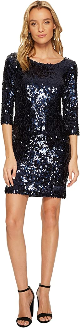Leila Sequin Bodycon Dress