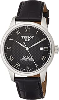 Tissot Men's Le Locle Stainless Steel Dress Watch Black T0064071605300